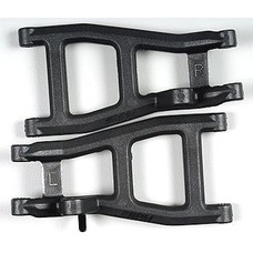 RPM R/C Products RPM80532 - RPM Rear A-Arms Black Nitro Rustler Stampede