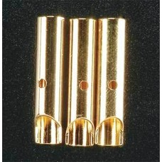 Great Planes GPMM3115 - Great Planes Gold Plated Bullet Connector Female 4mm (3)