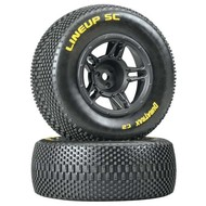 Duratrax DTXC3678 - Duratrax 1:10 Lineup SC Tire C2 Mounted Front Slash (2)