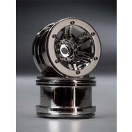 Axial AX8095 - Axial Rockstar 2.2 Wheels Black Chrome