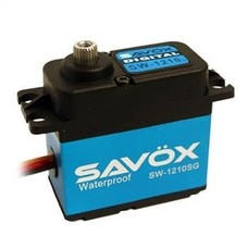 Savox SW-1210SG - Savox Waterproof Coreless Steel Gear Digital Servo-savsw1210sg