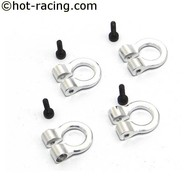 Hot Racing ACC80808 - Hot Racing 1:10 Scale Tow Shackle Silver
