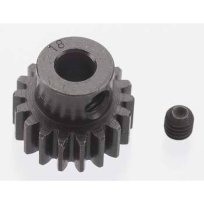Robinson RRP8618 - Robinson Racing 5mm 18T Blackened Pinion 32P