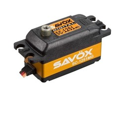 Savox SC-1251MG - Savox SC-1251MG Low Profile High Speed Metal Gear Digital Servo