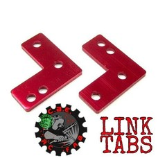 CBE RC FAB CBE01 - CBE RC FAB Axial SCX10 REAR UPPER LINK RELOCATION BRACKETS