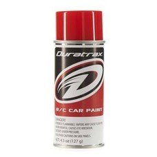 Duratrax DTXR4287 - Duratrax Bright Red Poly Carb Spray Paint