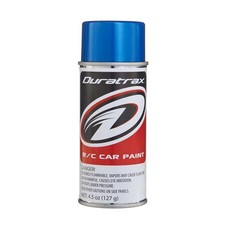 Duratrax DTXR4265 - Duratrax Metallic Blue Poly Carb Spray Paint