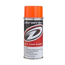 Duratrax DTXR4278 - Duratrax Fluorescent Orange Poly Carb Spray Paint