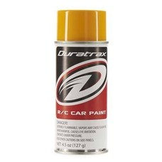 Duratrax DTXR4285 - Duratrax Bright Yellow Poly Carb Spray Paint