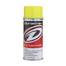 Duratrax DTXR4279 - Duratrax Fluorescent Yellow Poly Carb Spray Paint