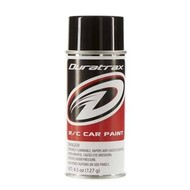 Duratrax DTXR4250 - Duratrax Basic Black Poly Carb Spray Paint