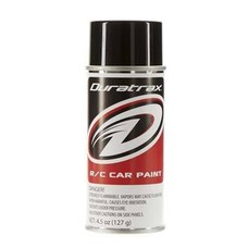 Duratrax DTXR4250 - Duratrax Basic Black Poly Carb Spray Paint