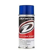 Duratrax DTXR4293 - Duratrax Pearl Blue Poly Carb Spray Paint
