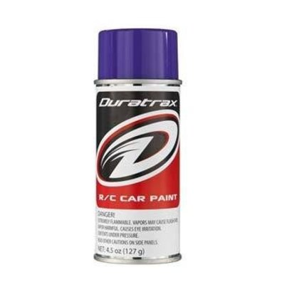 Duratrax DTXR4273 - Duratrax Candy Purple Poly Carb Spray Paint