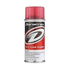 Duratrax DTXR4271 - Duratrax Candy Red Poly Carb Spray Paint
