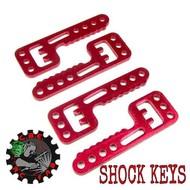 """CBE RC FAB CBEKEYS - CBE RC Fab Axial SCX10 Shock """"keys"""""""