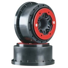 Proline Racing PRO2714-04 - Pro-Line Split Six 2.2:3.0 Red Black BeadLoc Front Slash