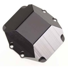 ST Racing Concepts STA80070DBK2 - STRC Ver. 2 Machined Aluminum HD Differential Cover Axial Wraith