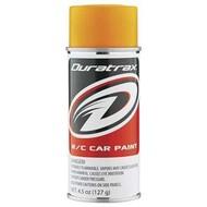 Duratrax DTXR4283 - Duratrax Bright Orange Flourescent  Poly Carb Spray Paint (4.5oz)