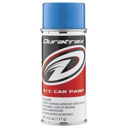 Duratrax DTXR4253 - Duratrax Light Blue Poly Carb Spray Paint (4.5oz)