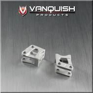 Vanquish VPS04720 - Vanquish Axial AR60 OCP Machined Link/Shock Mounts Silver