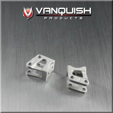 Vanquish VPS04720 - Vanquish Axial AR60 OCP Machined Link/Shock Mounts Silver