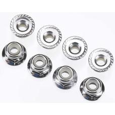 Traxxas TRA3647 - Traxxas Nuts 4mm Nylon Locking VXL (8)