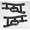 RPM R/C Products RPM80242 - RPM  Front A-Arms Black Slash 2wd Rustler Stampede Nitro Slash (2)