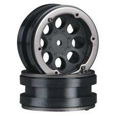 "Axial AX8087 - Axial 1.9"" 8-Hole Beadlocks Black"