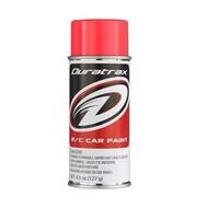 Duratrax DTXR4277 - Duratrax Fluorescent Red Poly Spray Paint