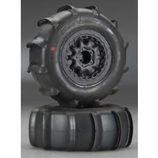 "Proline Racing PRO1158-17 - Pro-Line Sling Shot SC 2.2"" 3.0"" XTR Tires (2) Mounted"