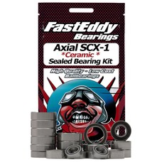 Fast Eddy Fast Eddy Bearings Axial SCX-10 Ceramic Sealed Bearing Kit