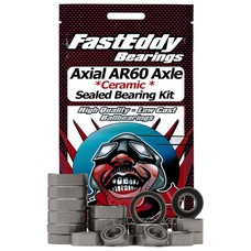 Fast Eddy Fast Eddy Bearings Axial Wraith AR60 Axle Ceramic Sealed Bearing Kit (Single Axle Set)