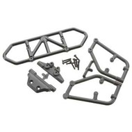 RPM R/C Products RPM80122 - RPM Producct Rear Bumper Slash 4x4