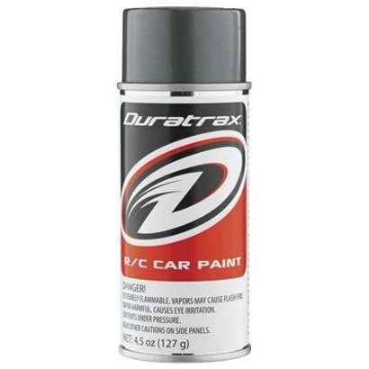 Duratrax DTXR4263 - Duratrax Gunmetal Poly Carb Spray Paint
