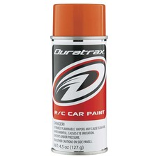 Duratrax DTXR4296 - Duratrax Polycarb Candy Orange 4.5oz