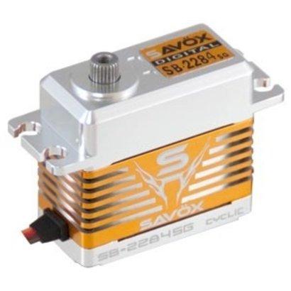 Savox SAVSB2284SG - Savox High Voltage Brushless Digital Servo 0.065/277.7@7.4V
