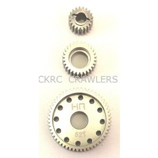 Hot Racing SCP1000T - Hot Racing Hard Anodized Aluminum Center Gear Set