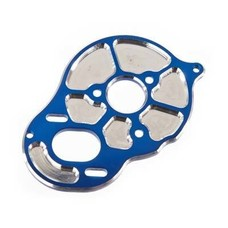 Team Associated ASC91603 - Team Associated FT Front Motor Plate Blue 3 Gear