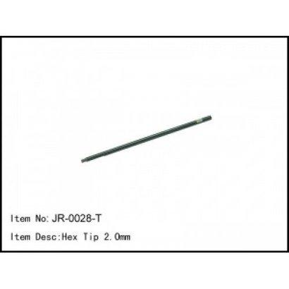 Caster Racing JR-0028 - Caster Racing T Hex Tip 2.0mm Tool