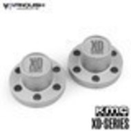 Vanquish VPS07721 - Vanquish Center Hubs XD Series Clear Anodized