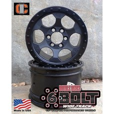 Crawler Innovations CWR-5004 - Crawler Innovations 6 Bolt Performance Wheel; 2.2; 1.5 inch Width; Pair