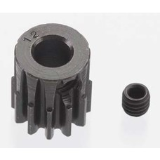 Robinson RRP8612 - Robinson Racing X-Hard 12T Black Steel 32P Pinion 5mm