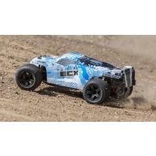 ECX ECX03330T1 - ECX 1/10 Circuit 2WD Stadium Truck, Brushed, LiPo, RTR: White/Blue