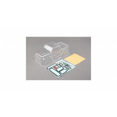 ECX ECX210010 - ECX Body Set, Clear: 1.9 Barrage
