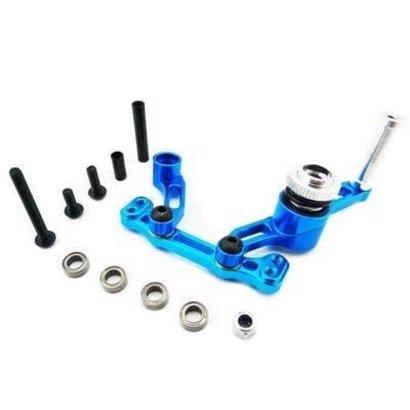 Hot Racing ECT4806 - Hot Racing Aluminum Bellcrank Steering Saver with Bearings ECX 2wd