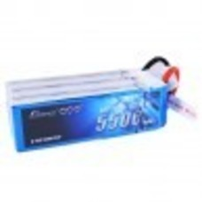 Gens Ace GA-B-45C-5500-6s1p - Gens ace 5500mAh 22.2V 45C 6S1P Lipo Battery Pack with Deans Plug