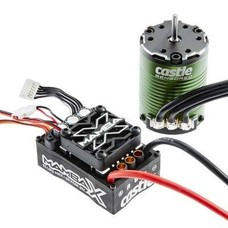 Castle Creations CSE010-0155-01 - Castle Mamba X Sensored 25.2V WP ESC + 1406-4600KV