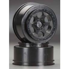 DE RACING DER-SCT-AWB - DE Racing Trinidad SC Whls + 3mm Offset SC10 RS/4x4 B
