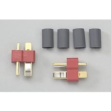 Deans WSD1302- Deans Ultra Male Plug 2pk